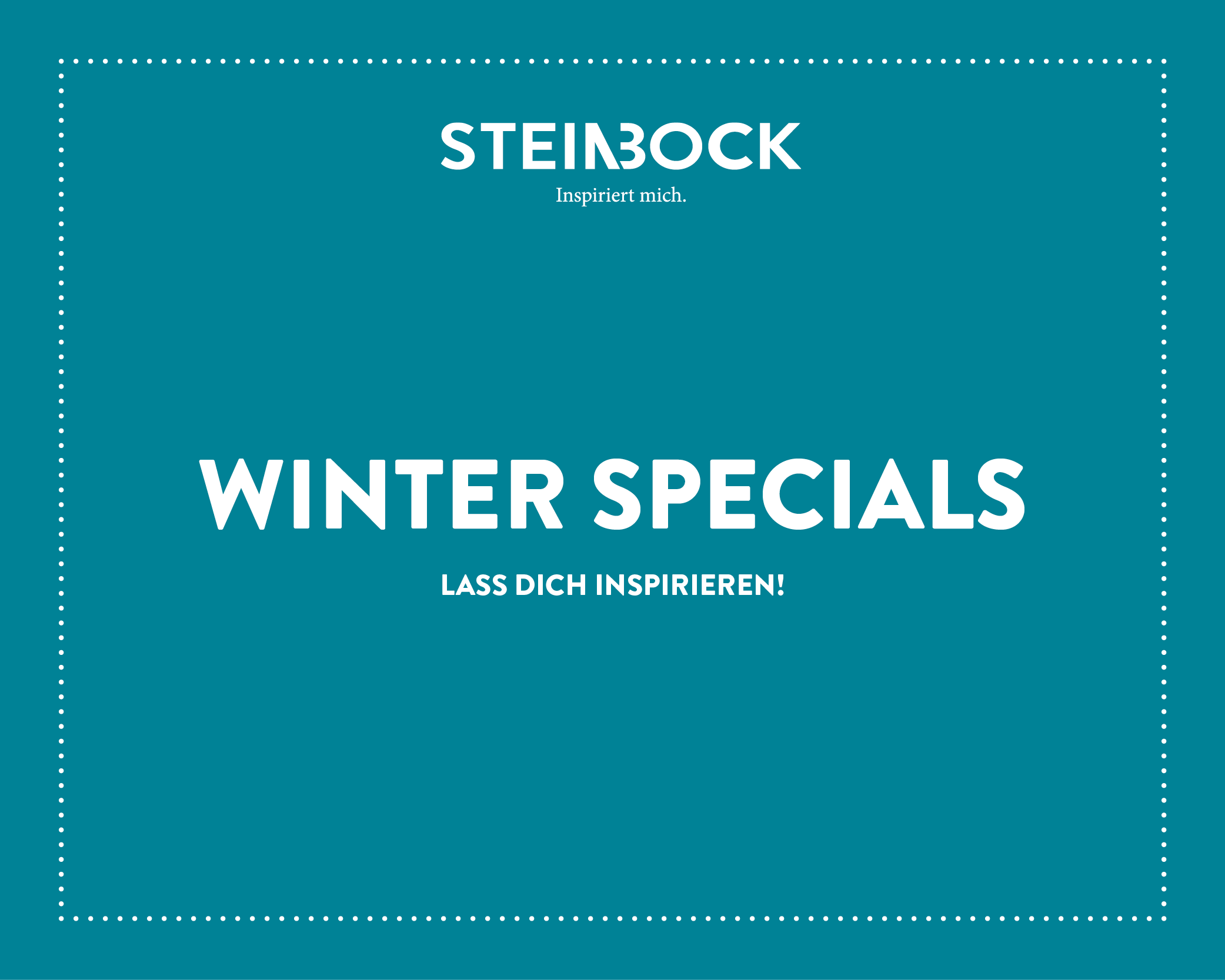 STEINBOCK – Winter Specials